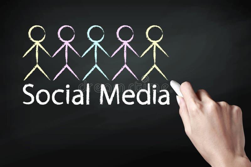 Icona sociale di media royalty illustrazione gratis