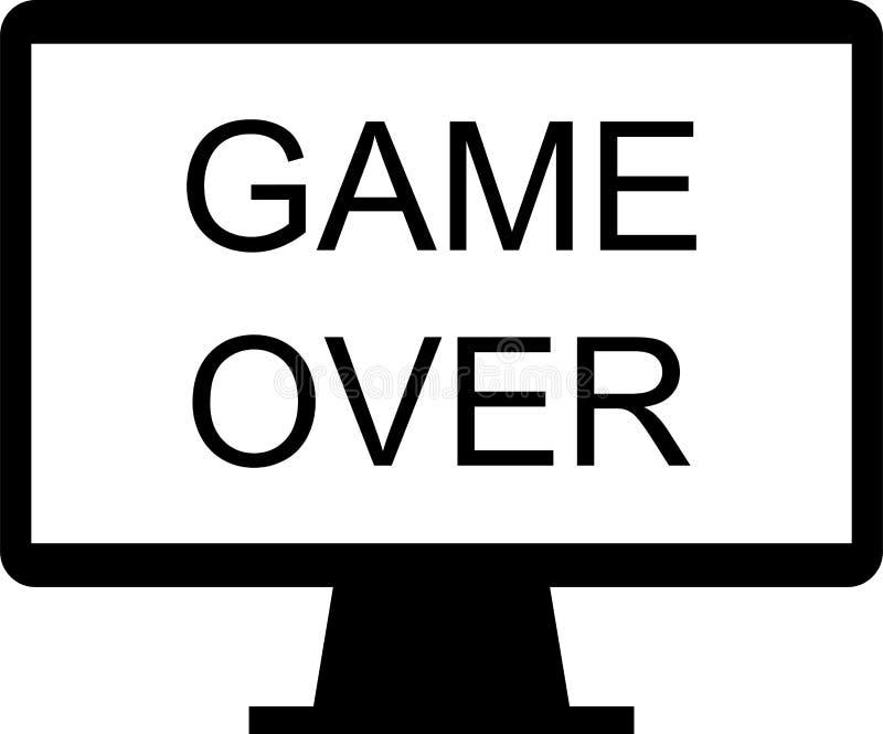 Icona sopra il gioco royalty illustrazione gratis
