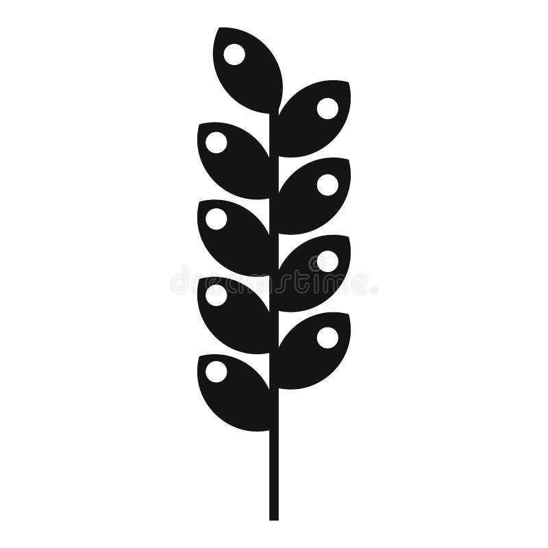 Icona stretta della punta, stile semplice illustrazione di stock