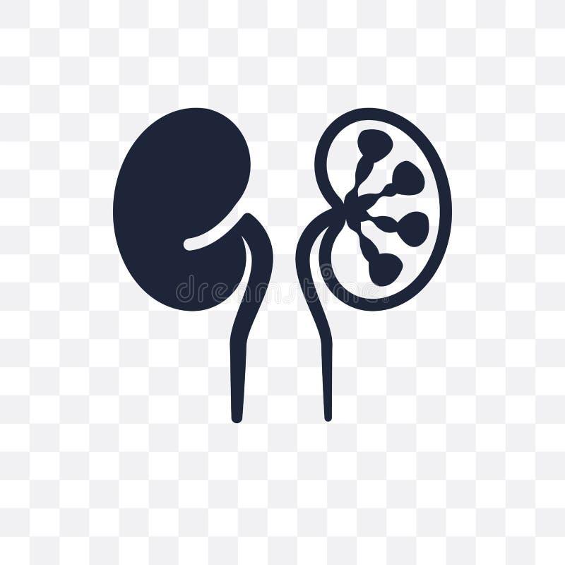 Icona trasparente di anemia sideropenica Anemia sideropenica illustrazione di stock