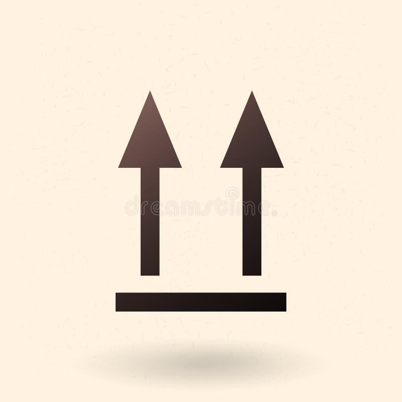 Icona Vector Black Basic - Due frecce in su Non capovolgere il segno per il pacchetto royalty illustrazione gratis