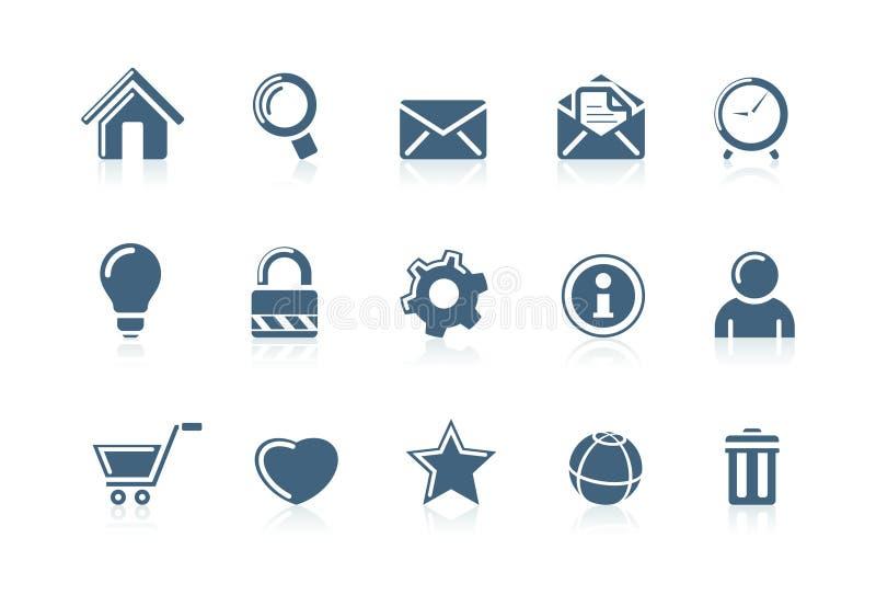 Icone 1 del Internet e di Web royalty illustrazione gratis