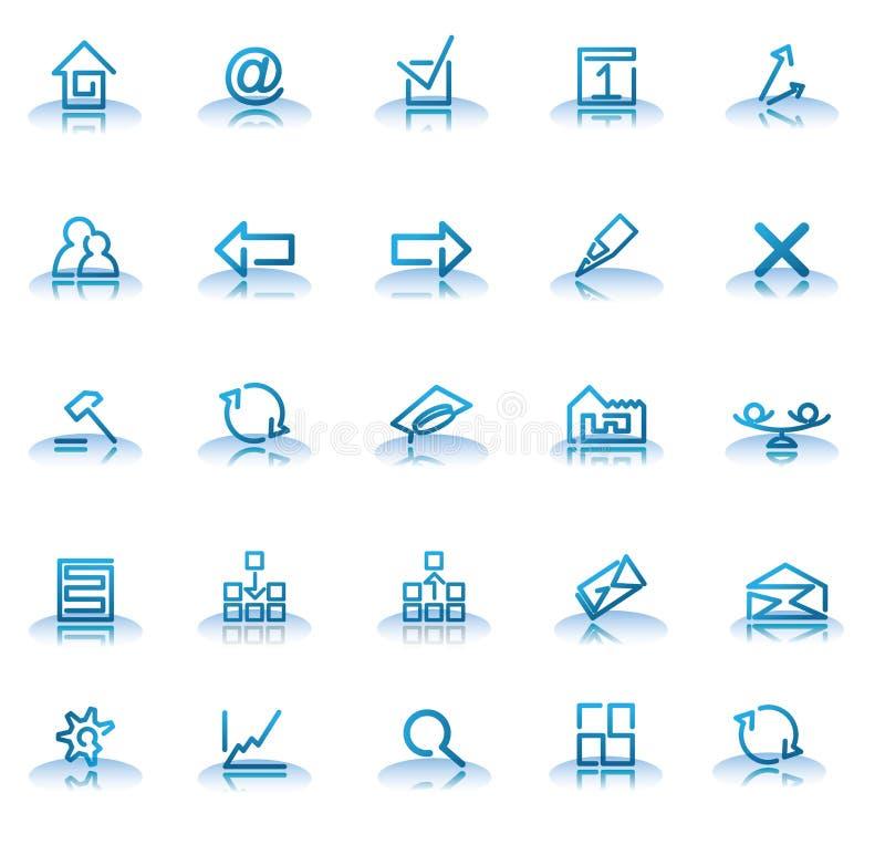 Icone fotografie stock