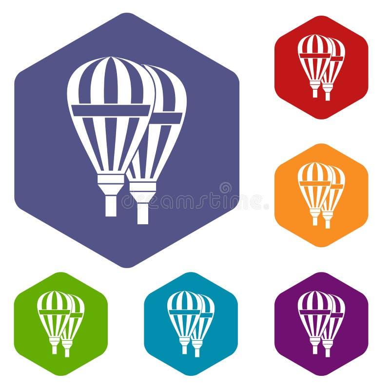 Download Icone dei palloni messe illustrazione vettoriale. Illustrazione di illustrazione - 117979013