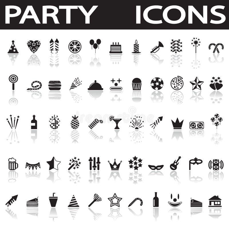 Icone del partito royalty illustrazione gratis