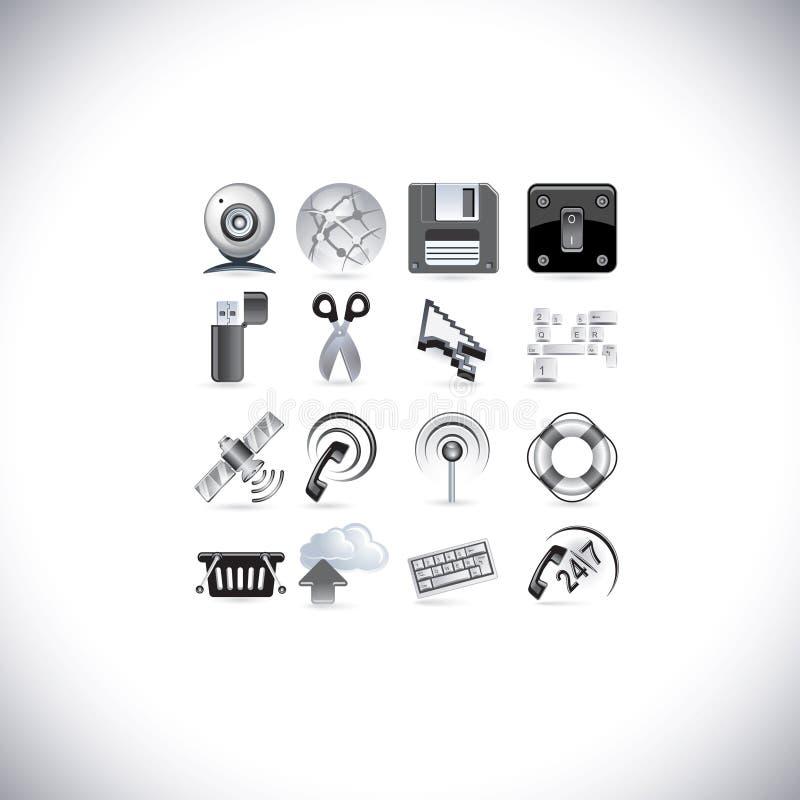 Icone del segnale di Web royalty illustrazione gratis