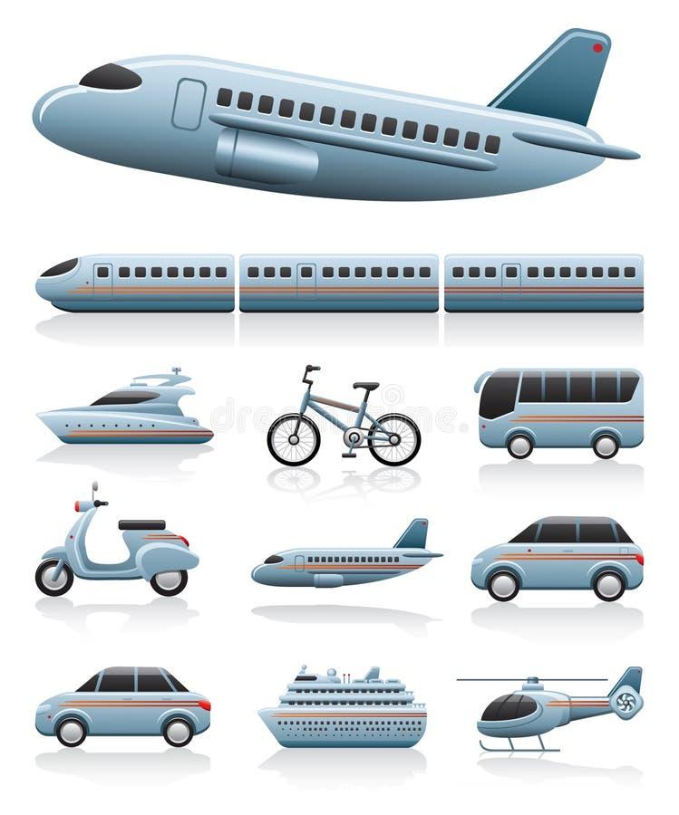 Icone del trasporto