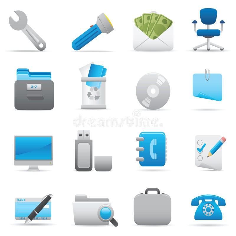 Icone dell'ufficio | Serie 03 dell'indaco