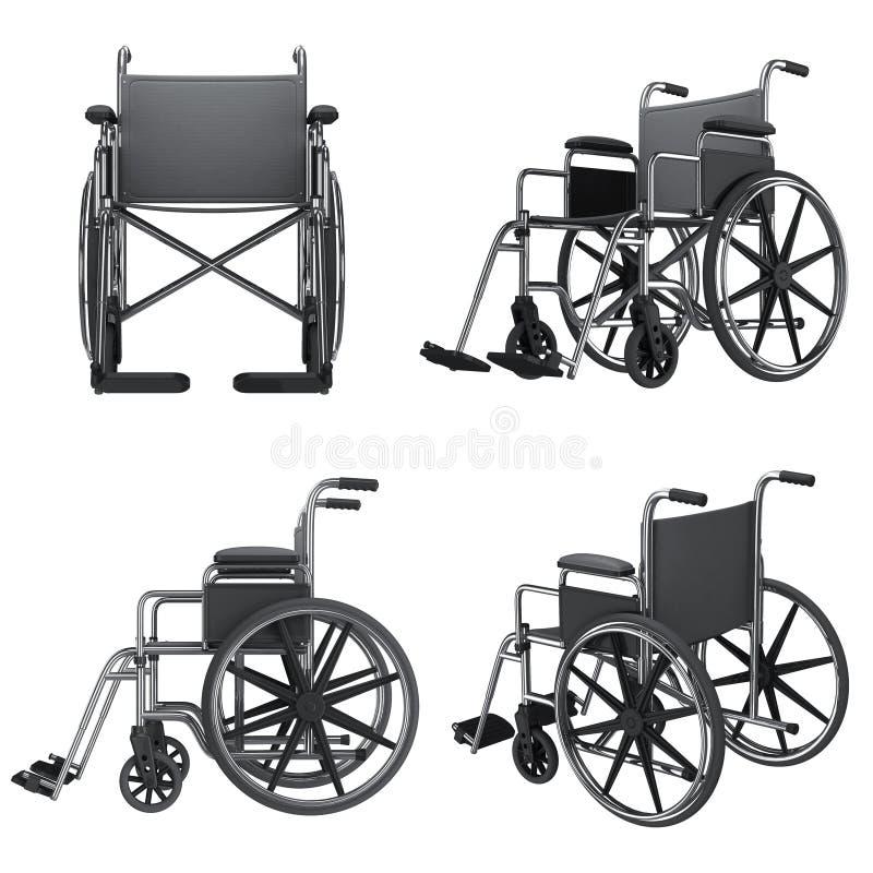 Icone della sedia a rotelle illustrazione di stock for Sedia a rotelle queralto