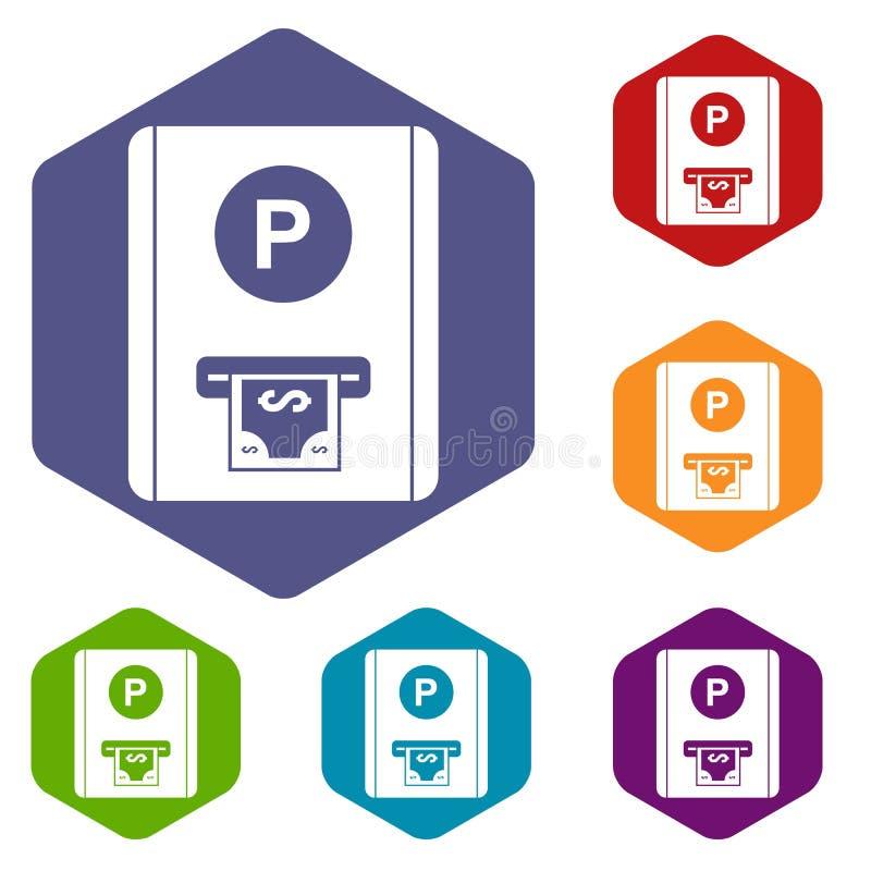 Download Icone Della Tassa Di Parcheggio Messe Illustrazione Vettoriale - Illustrazione di parco, parcheggio: 117978867