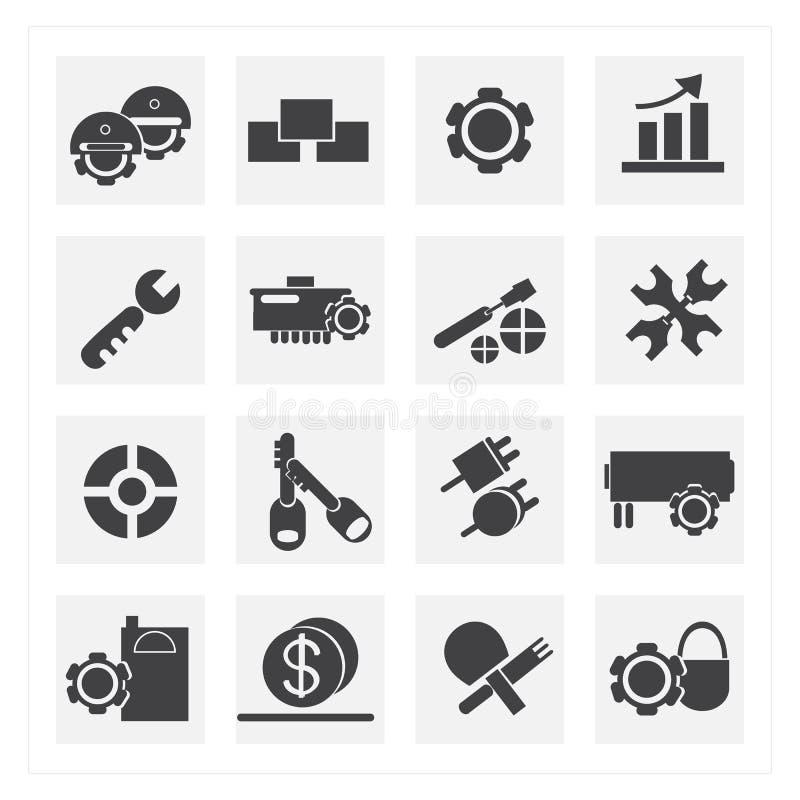 Icone dello strumento illustrazione vettoriale