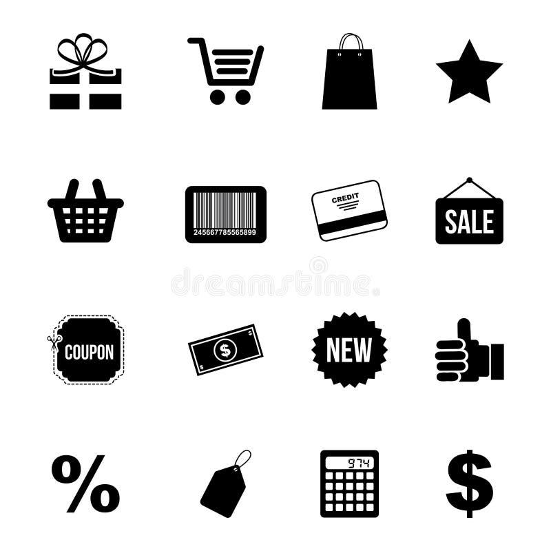 Icone di acquisto royalty illustrazione gratis