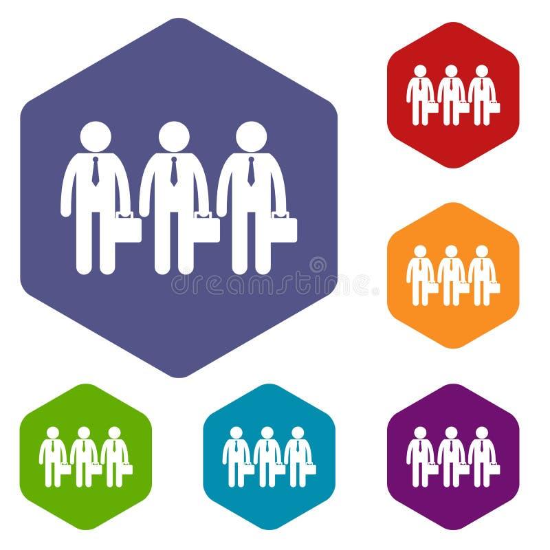 Download Icone di affari impostate illustrazione vettoriale. Illustrazione di comunicazione - 117979147
