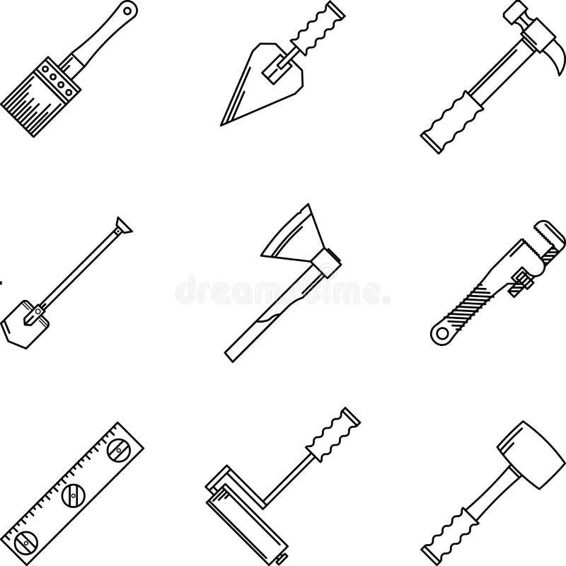 Icone di contorno per gli attrezzi per bricolage - Contorno squalo martello ...
