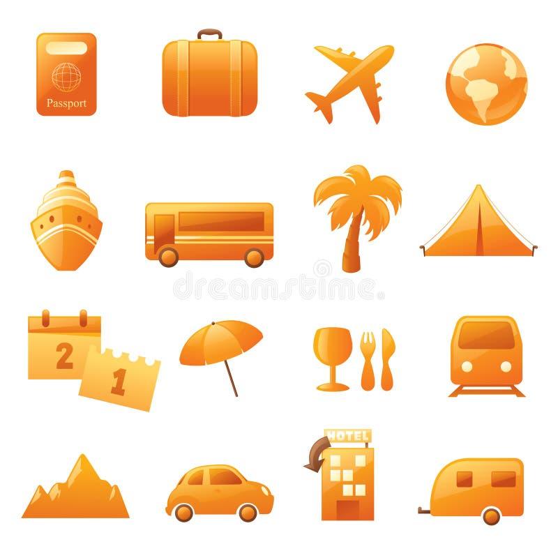 Icone di festa illustrazione di stock