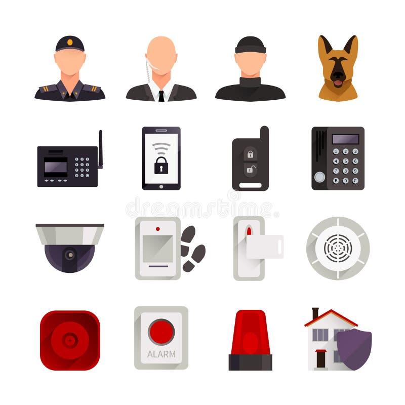 Icone di obbligazione domestica royalty illustrazione gratis