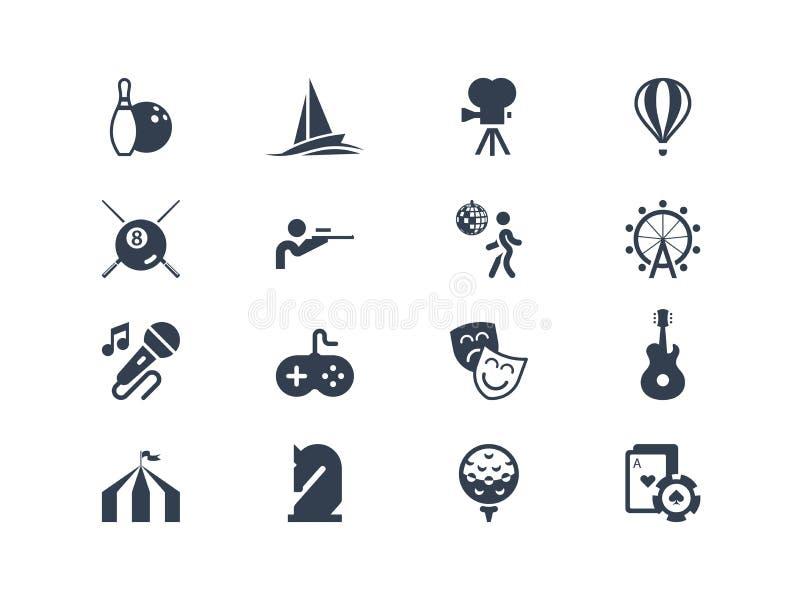 Icone di spettacolo Serie di Lyra illustrazione vettoriale
