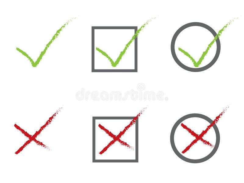 Icone di voto royalty illustrazione gratis