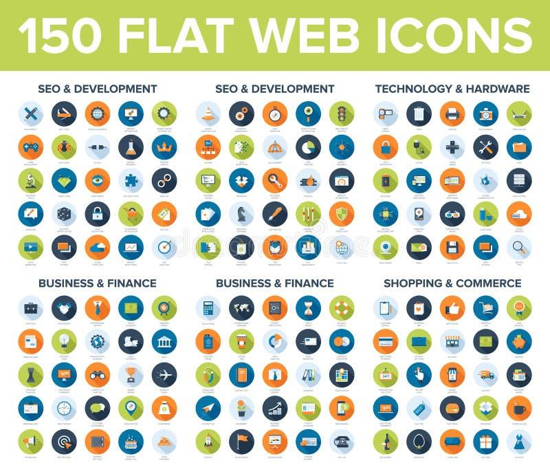 Icone di Web illustrazione vettoriale