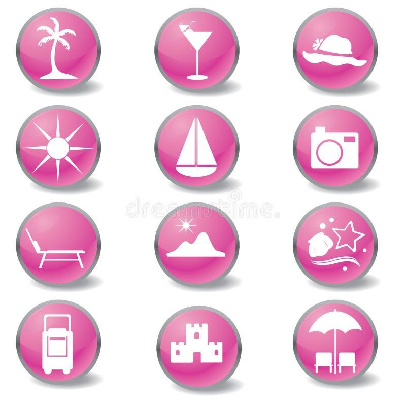Icone di Web di corsa royalty illustrazione gratis