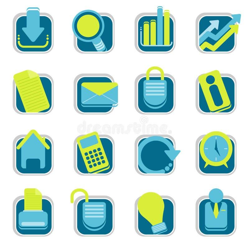 Icone di Web site fotografia stock libera da diritti