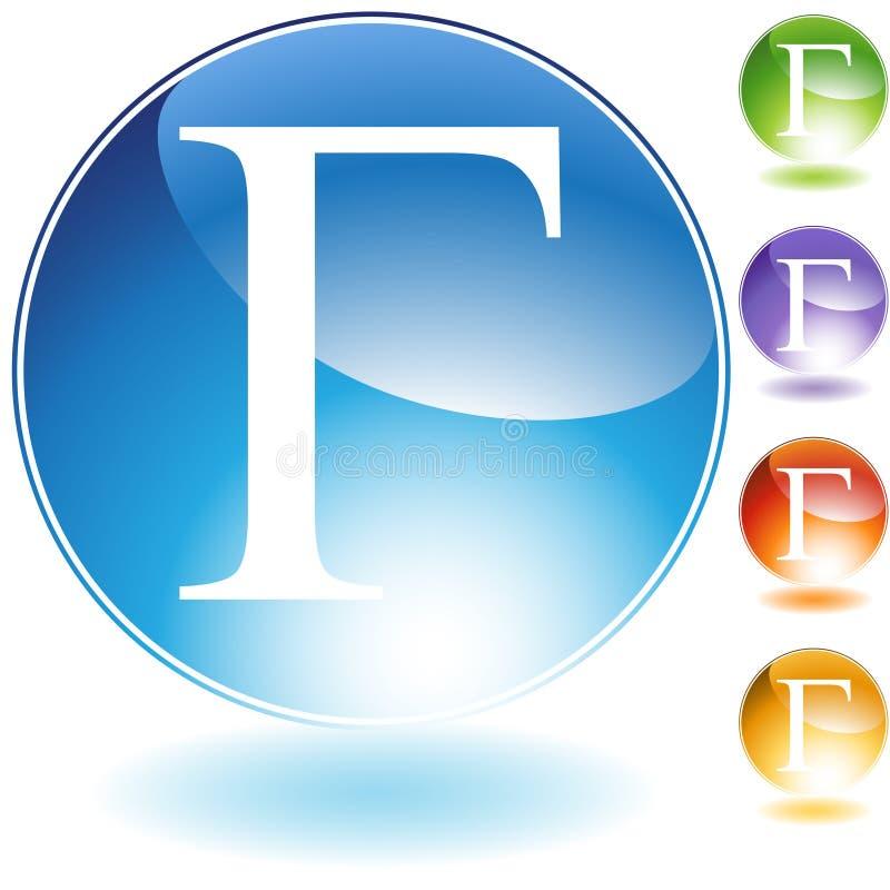 Icone - gamma greca di simbolo royalty illustrazione gratis