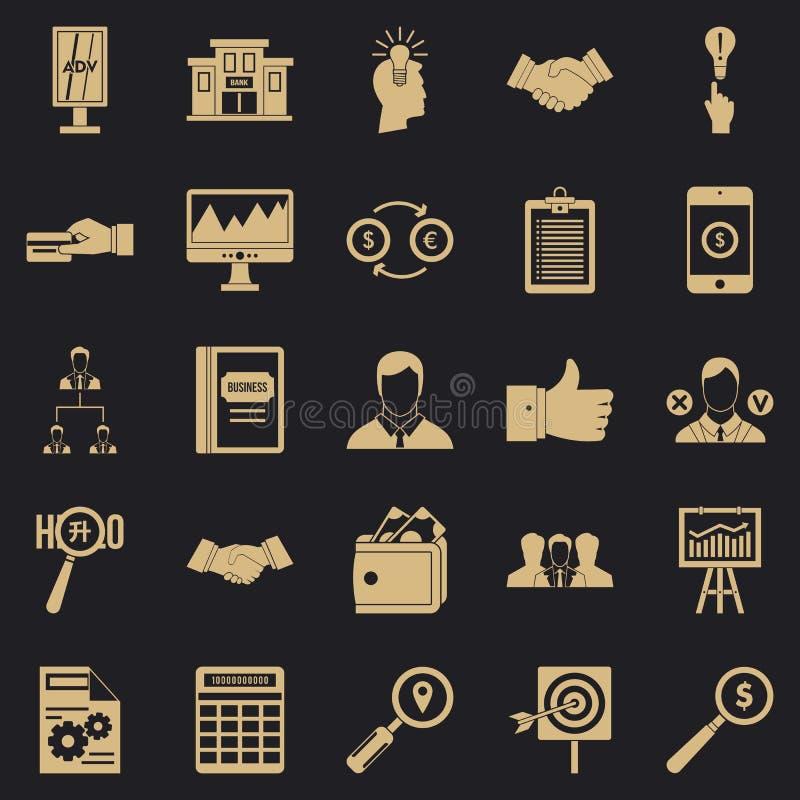 Icone messe, stile semplice della compensazione royalty illustrazione gratis