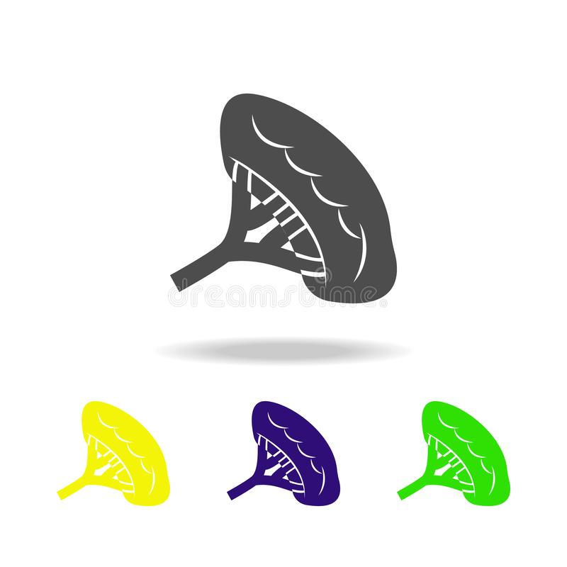 icone multicolori dell'organo dei reni Elemento delle icone multicolori delle parti del corpo Segni ed icona per i siti Web, web  illustrazione di stock