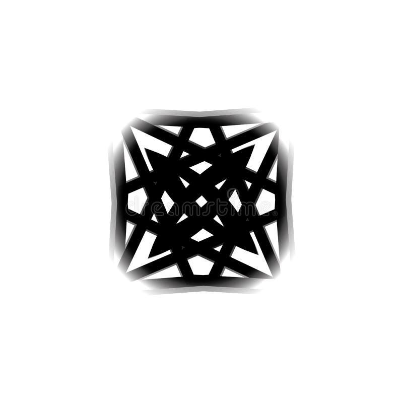 Icone per le applicazioni ed i giochi mobili illustrazione vettoriale