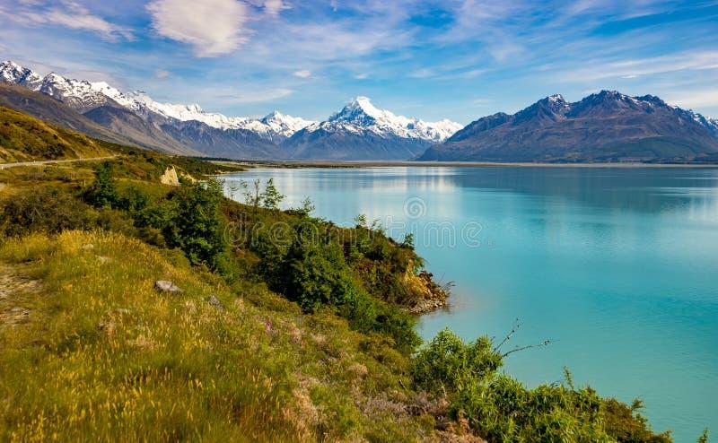 Iconic Aoraki-Mt Cook scenes royalty free stock image