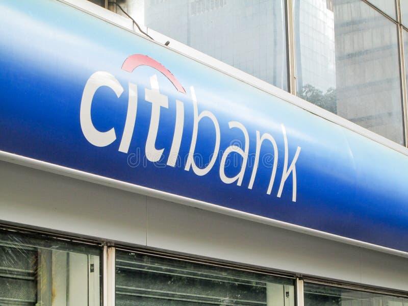 Iconic bank, Citi formerly known as Citibank at the El Recreo Shopping Center, near the Boulevard de Sabana Grande, Caracas, Venez. Uela royalty free stock photo