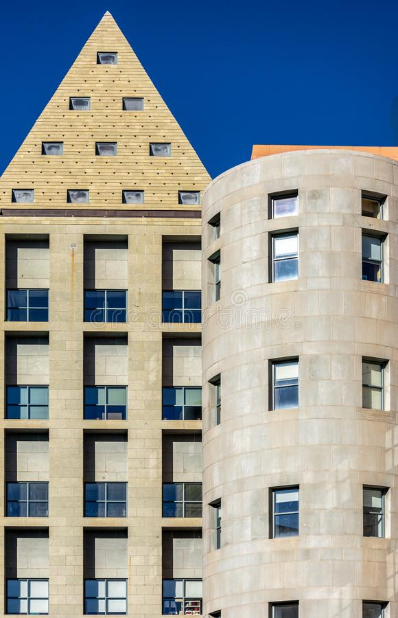 Iconic Denver, Colorado, arquitetura imagem de stock