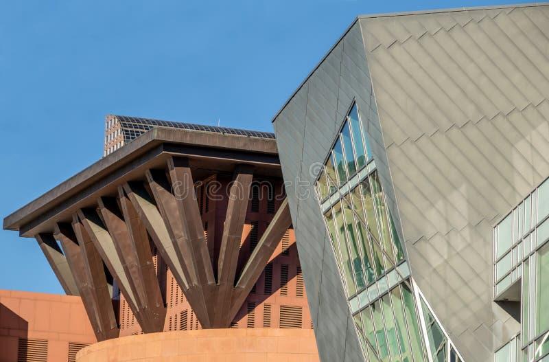 Iconic Denver, Colorado, arquitetura imagem de stock royalty free