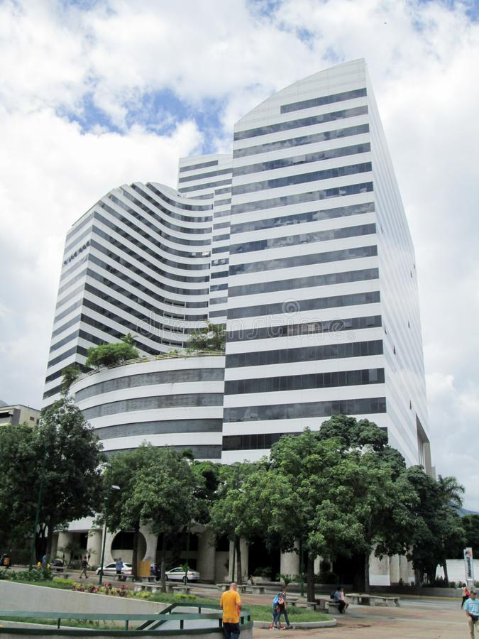 Iconic five star hotel in the city of Caracas, Caracas Palace, formerly known as the Four Seasons. Located in the Altamira neighbo. Rhood, Chacao, Caracas stock photo