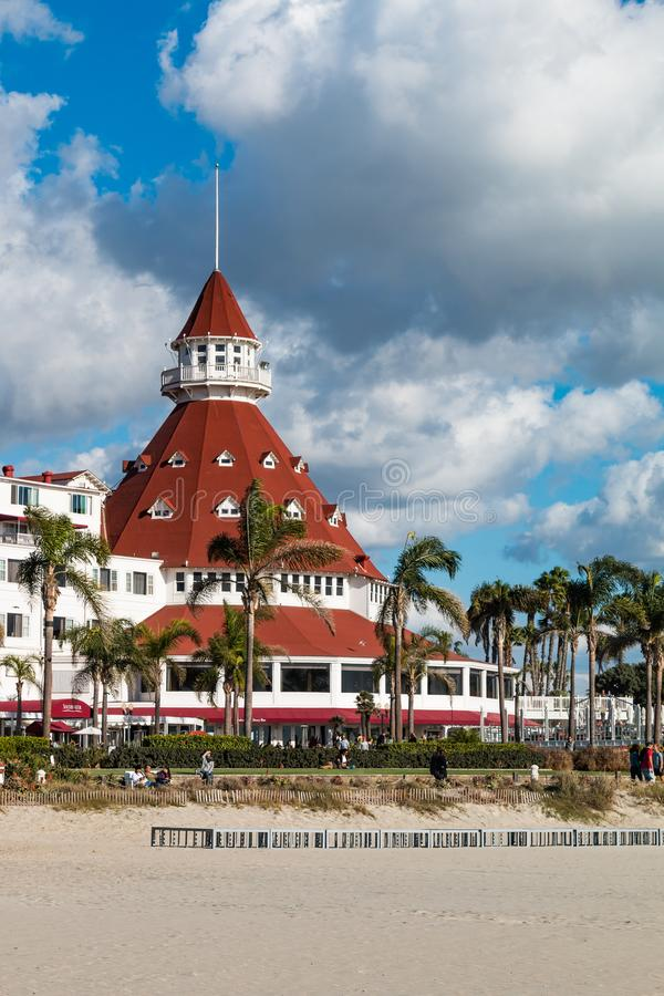 Iconic Hotel Del Coronado In Coronado, California
