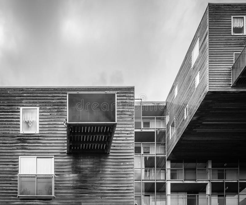 Iconic Housing Building In Amsterdam Editorial Photo