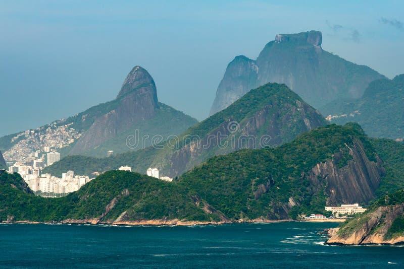 Iconic Mountains of Rio de Janeiro royalty free stock image