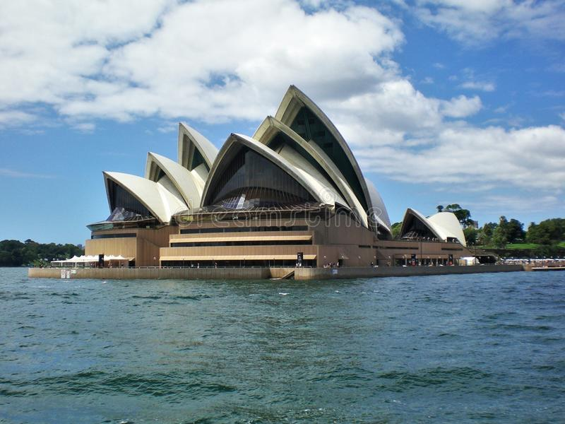 The Iconic symbol of Australia, the Beautiful Sydney Opera House stock image