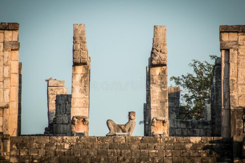 Iconique maya image libre de droits
