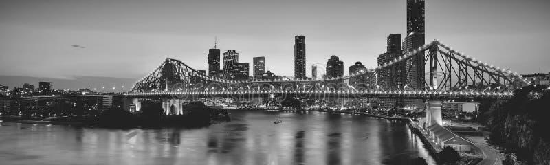 Iconische Verhaalbrug in Brisbane, Queensland, Australië royalty-vrije stock afbeelding