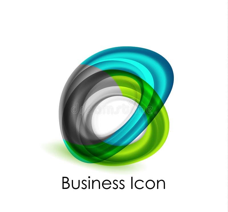 Icono abstracto del asunto ilustración del vector
