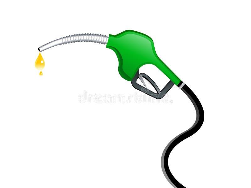 Icono abstracto del surtidor de gasolina libre illustration