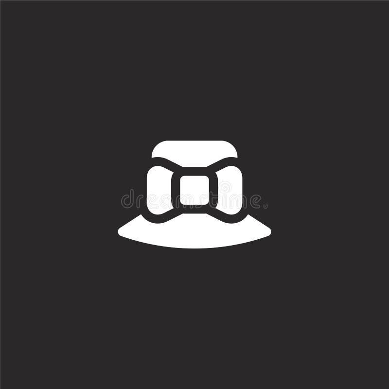 Icono accesorio Icono accesorio llenado para el diseño y el móvil, desarrollo de la página web del app icono accesorio de la moda libre illustration