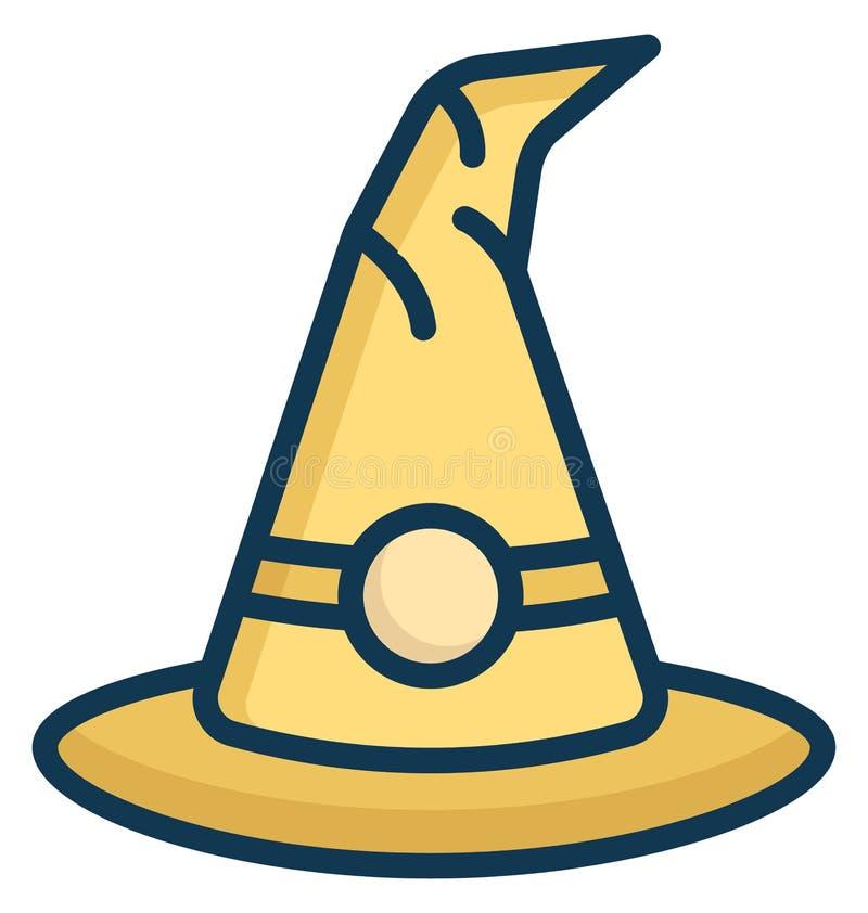 Icono aislado casquillo hecho punto del vector que puede ser modificado o corregir fácilmente en cualquier icono aislado casquill stock de ilustración