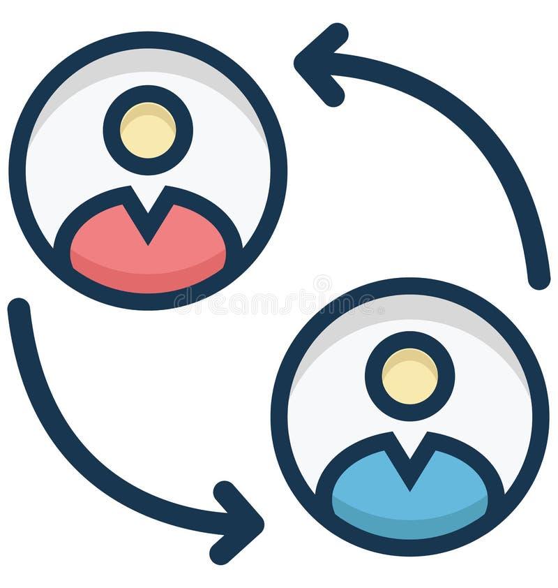 Icono aislado del vector que habla que puede ser modificado o ser corregido fácilmente ilustración del vector