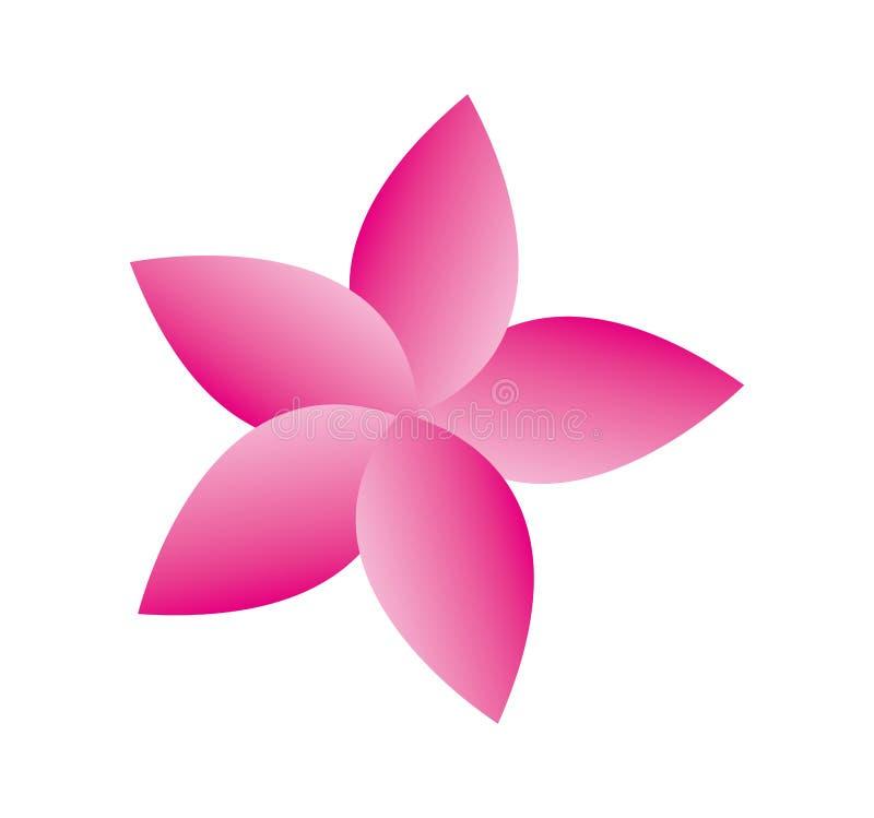 Icono aislado flor linda ilustración del vector