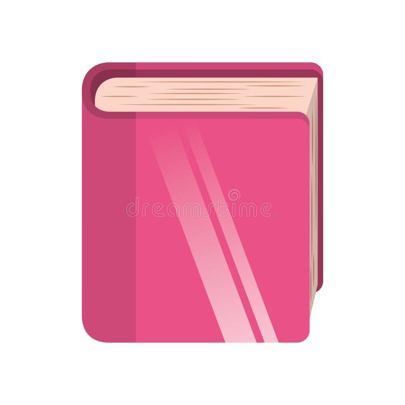 Icono aislado libro de la biblioteca libre illustration