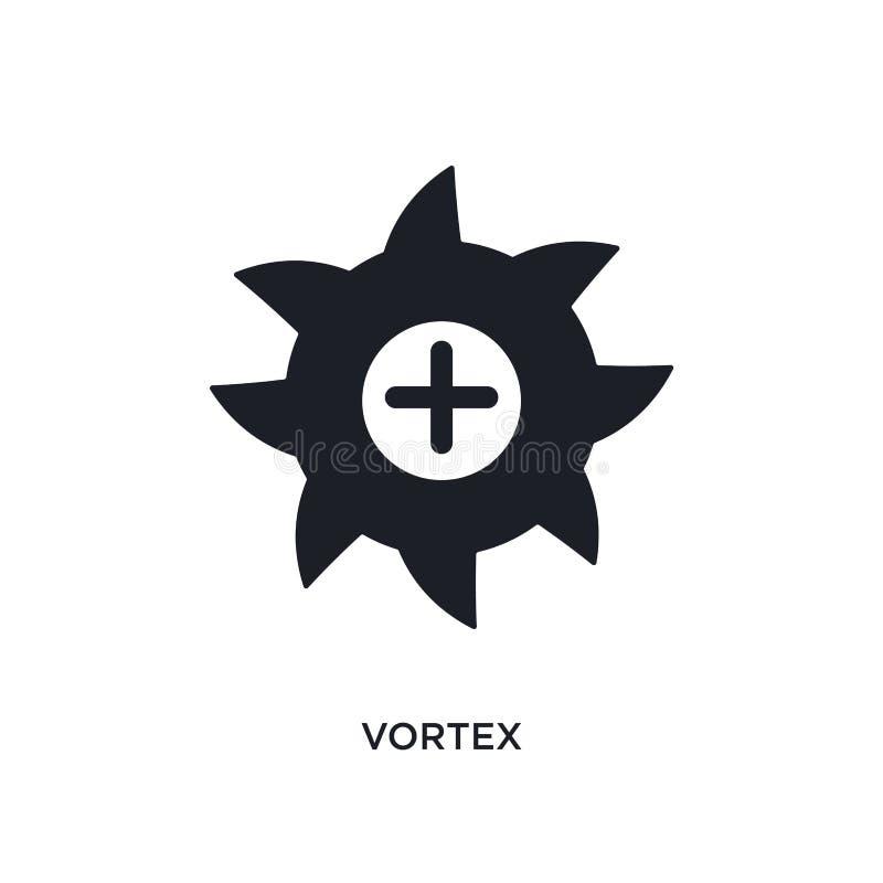 icono aislado vórtice ejemplo simple del elemento de iconos del concepto de la ciencia diseño editable del símbolo de la muestra  ilustración del vector