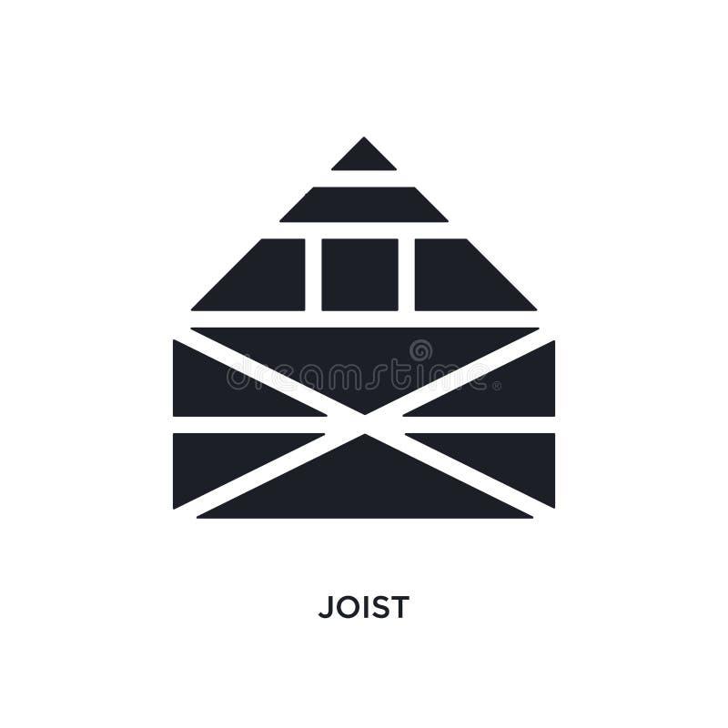 icono aislado vigueta ejemplo simple del elemento de iconos del concepto de la construcción diseño editable del símbolo de la mue stock de ilustración