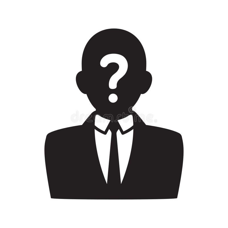 Icono anónimo del usuario libre illustration